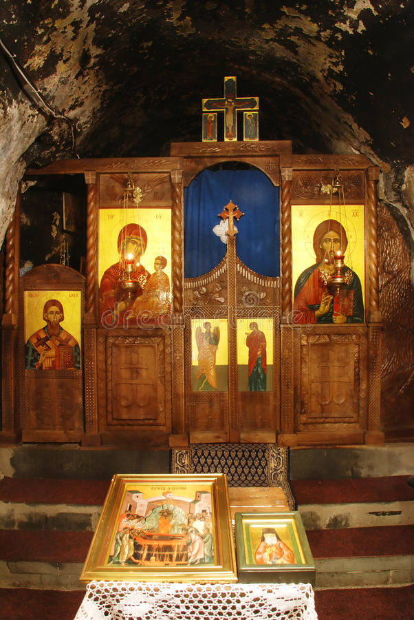 Kloster Dajbabe14 stockbild