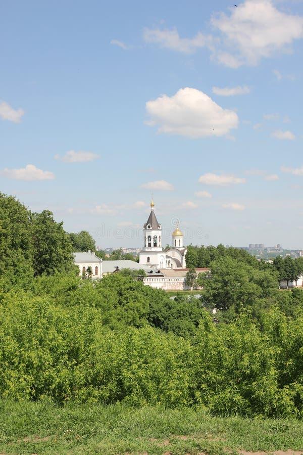 Kloster der Geburt Christi der gesegneten Jungfrau in Vladimir stockfotos