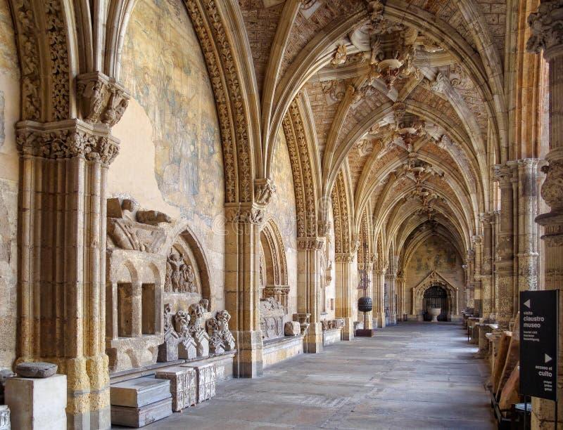 Kloster der Kathedrale - Leon lizenzfreies stockbild