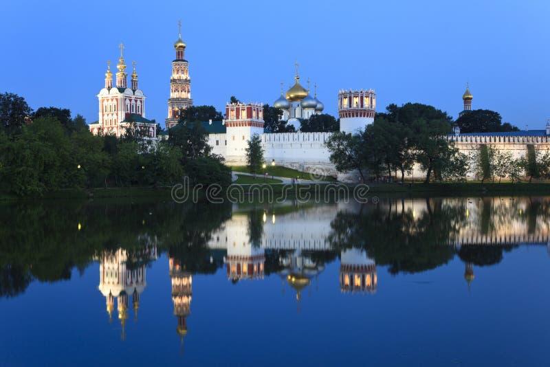 Kloster der neuen Maide in Moskau, Russland. lizenzfreie stockfotografie