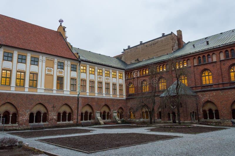 Kloster der Riga-Hauben-Kathedrale Lettland lizenzfreies stockbild