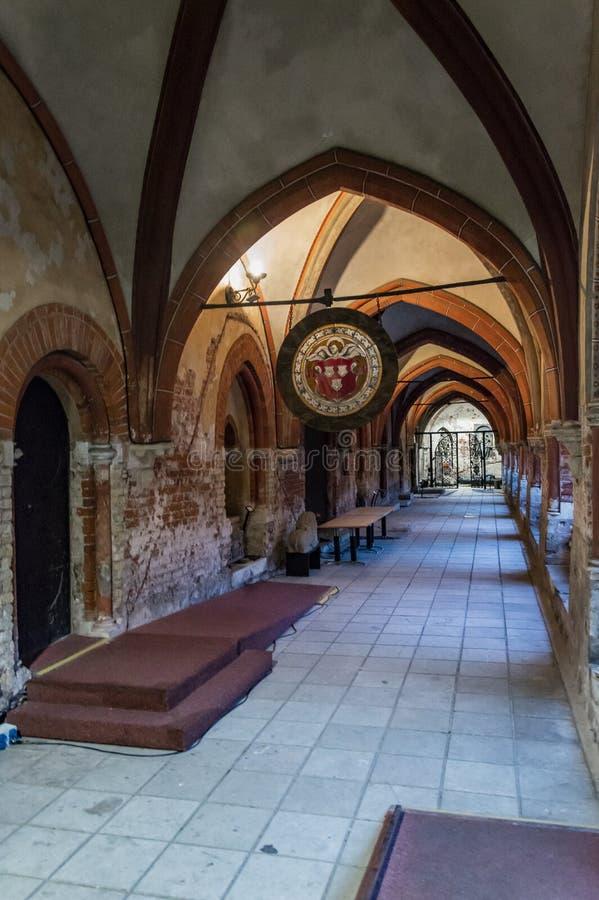 Kloster der Riga-Hauben-Kathedrale Lettland lizenzfreie stockfotografie