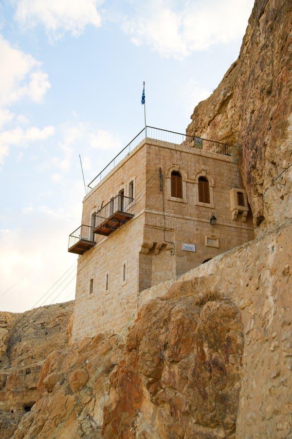 Kloster der Versuchung, Palästina, Israel stockbild