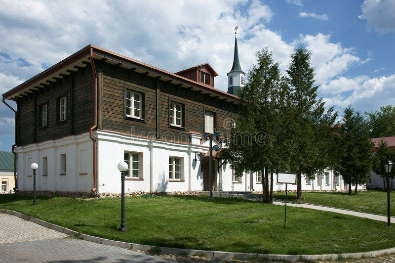 Kloster des alten Mannes stockbilder