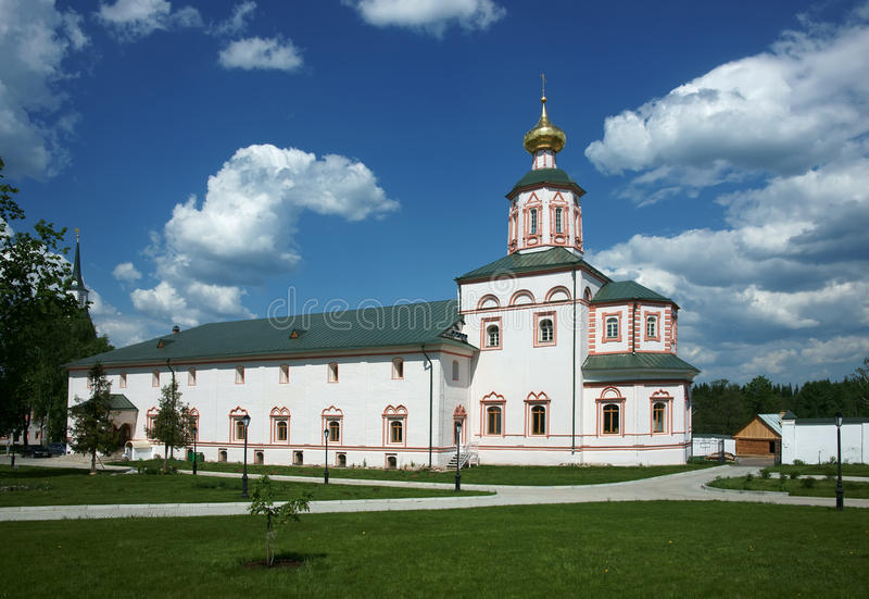 Kloster des alten Mannes stockfotografie