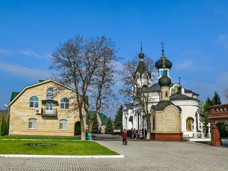 Kloster des heiligen Dormitions-Klosters, der Auftritt von lizenzfreie stockfotos