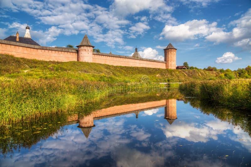 Kloster des Heiligen Euthymius Suzdal, Russland stockfotografie