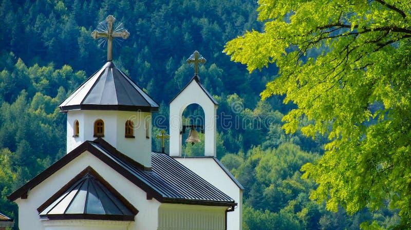 Kloster Dobrun royaltyfria bilder