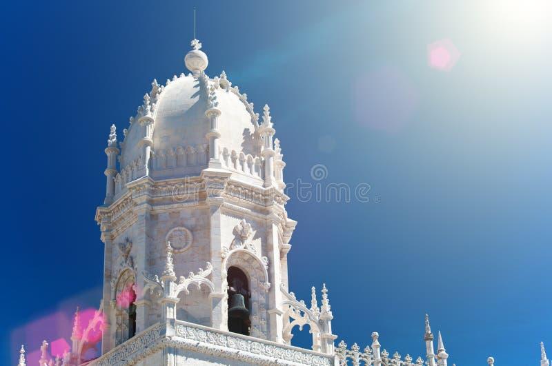 Kloster för Mosteiro DOS Jeronimos Hieronymites, royaltyfria foton