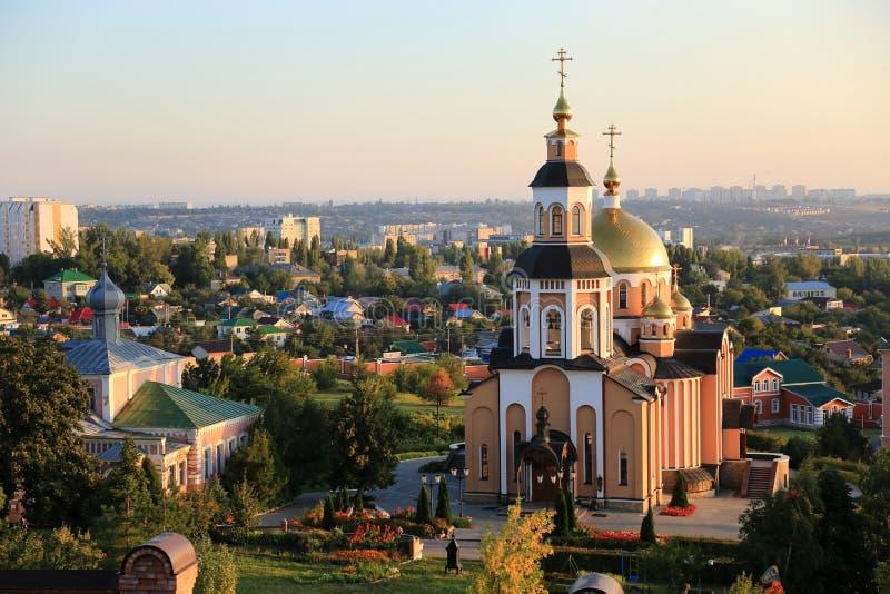 Kloster för ` s för St Alexey, Saratov, Ryssland royaltyfria foton