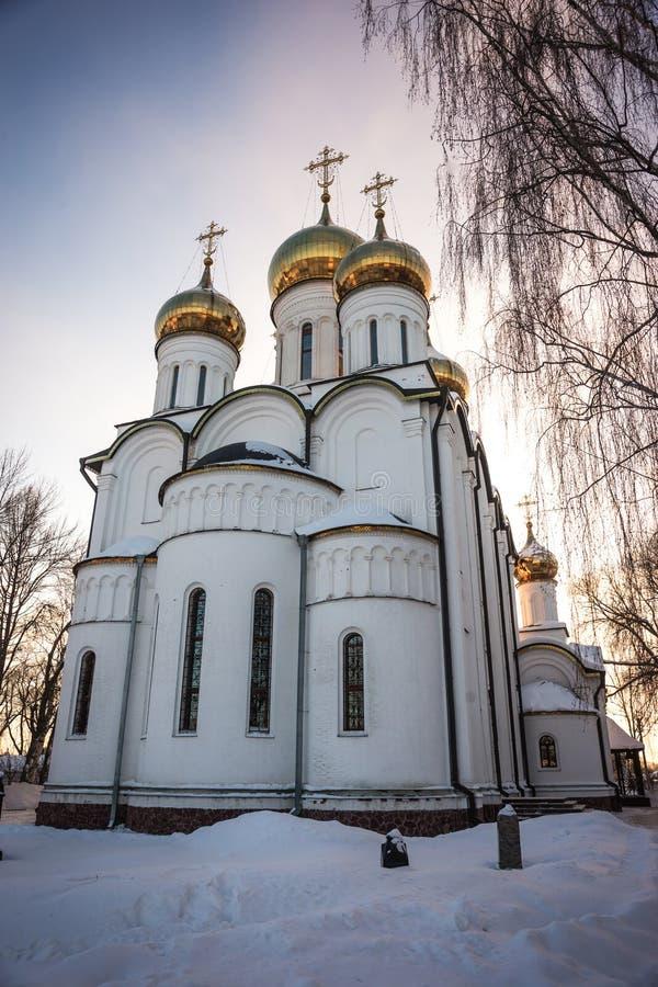 Kloster för Svyato Nikolsky Pereslavl kvinna` s i Pereslavl Zalessk fotografering för bildbyråer