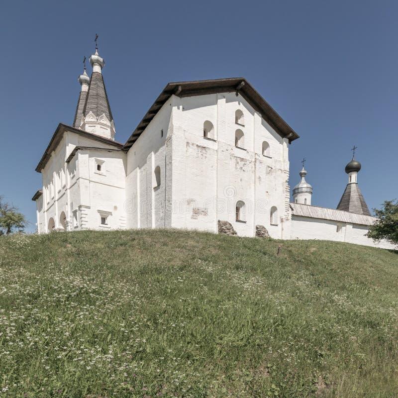Kloster Ferapontov Belozersky Kloster der Russisch-Orthodoxen Kirche Russischer Markstein Welterbe stockbild