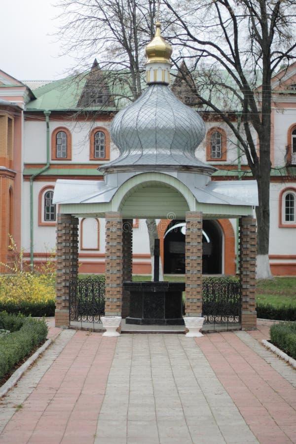 Kloster Gustynsky för helig Treenighet royaltyfria bilder
