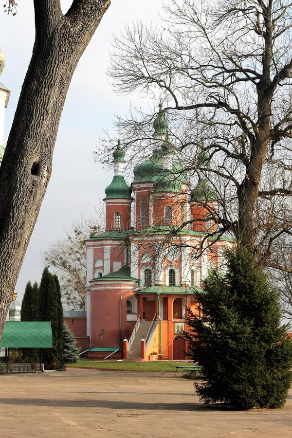 Kloster Gustynsky för helig Treenighet arkivfoto