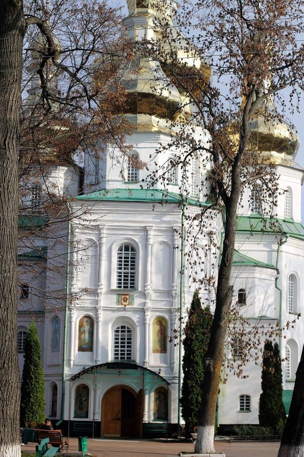 Kloster Gustynsky för helig Treenighet arkivbilder