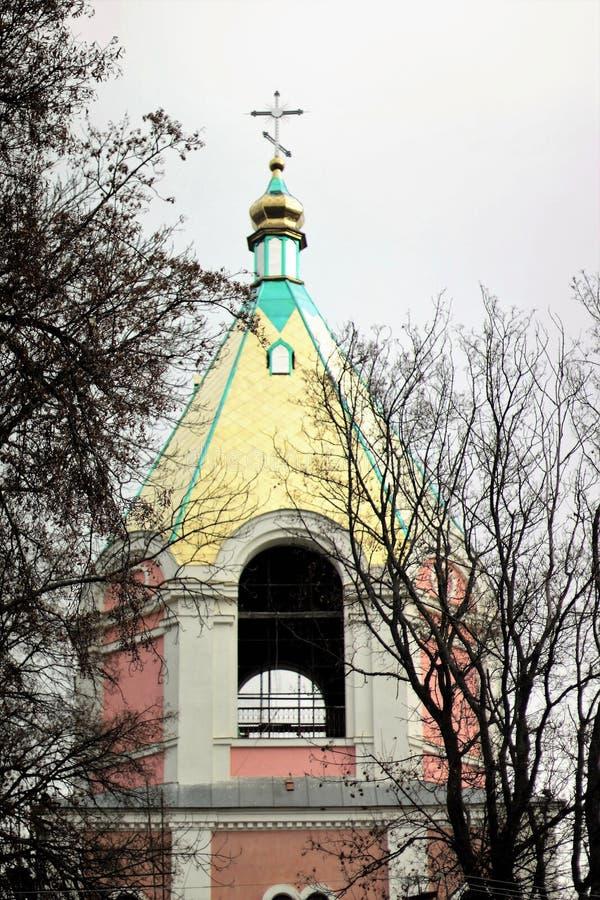 Kloster Gustynsky för helig Treenighet royaltyfri foto