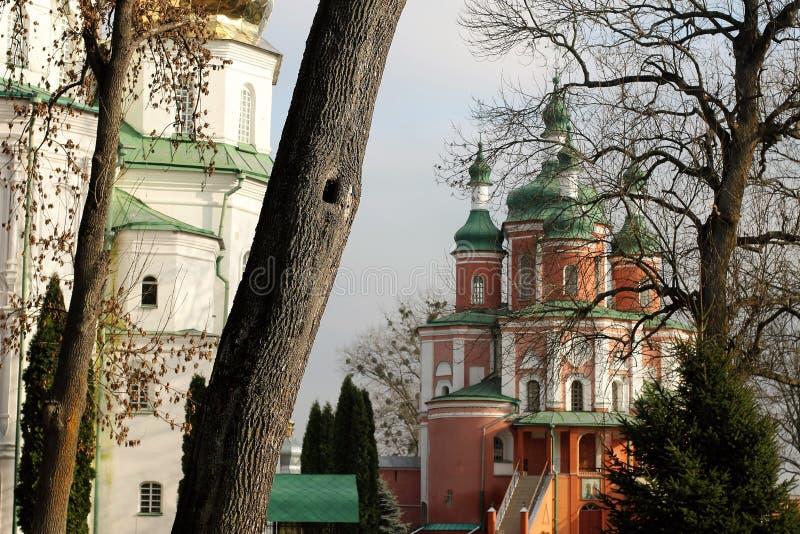 Kloster Gustynsky för helig Treenighet arkivfoton