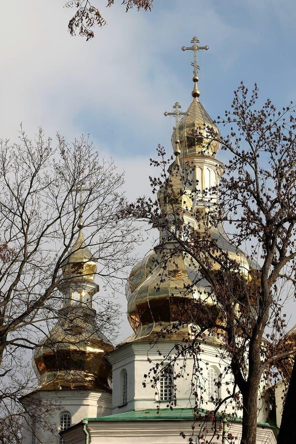 Kloster Gustynsky för helig Treenighet arkivbild