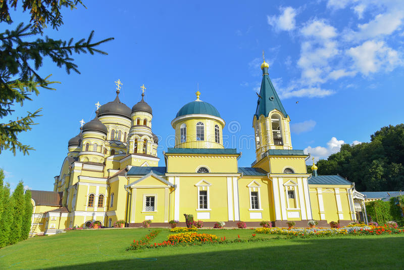 Kloster Hincu, Moldavien royaltyfria foton