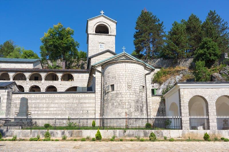 Kloster i Cetinje, Montenegro. royaltyfri fotografi