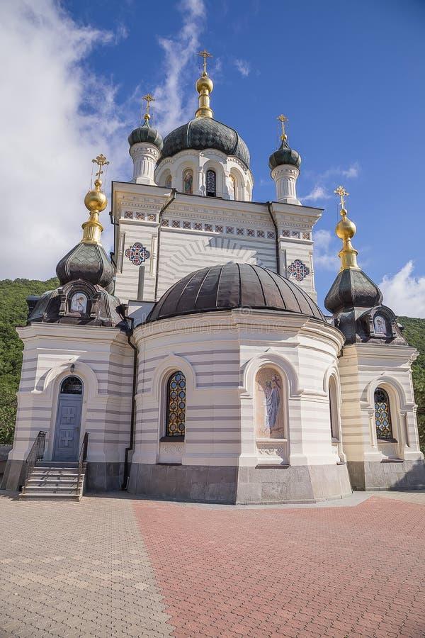 Kloster i Krimet arkivfoto