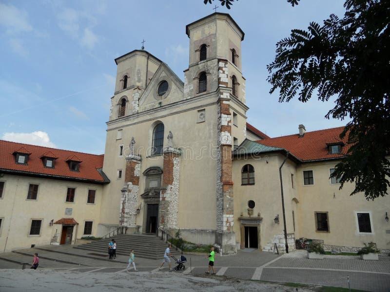 Kloster i Tyniec royaltyfri bild