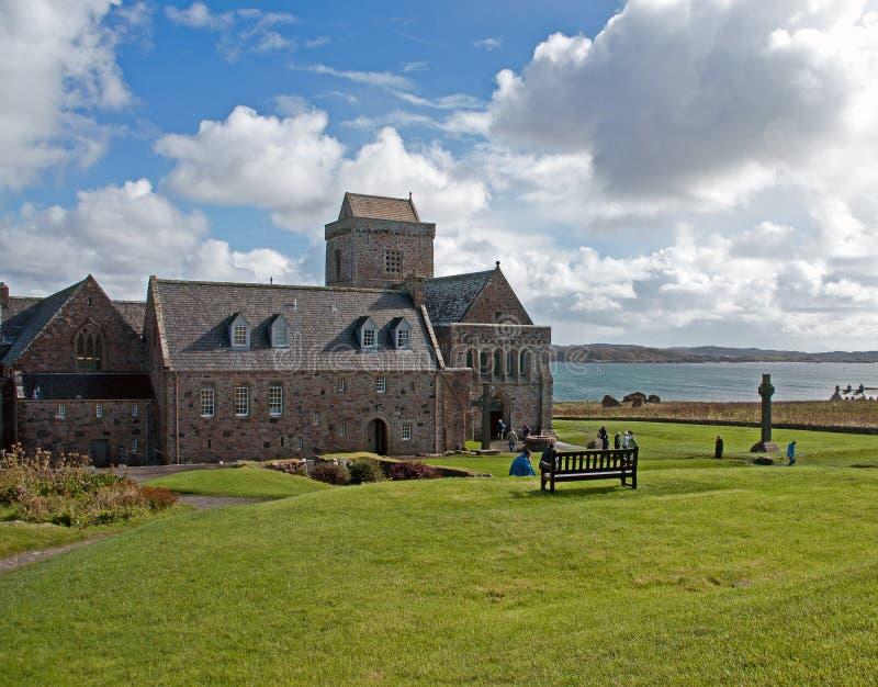 Kloster Iona Abbey stockfoto