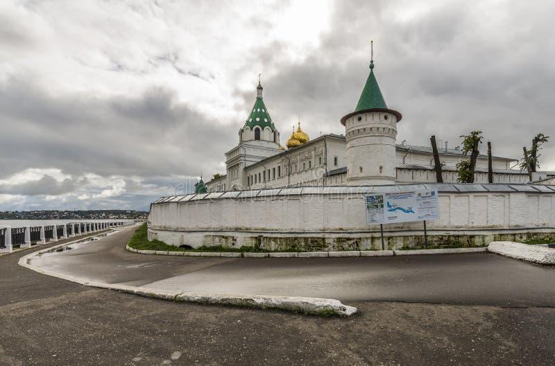 Kloster Ipatiev för helig Treenighet arkivfoto