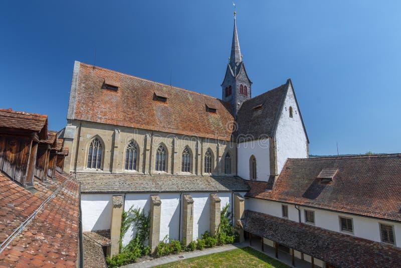 Kloster Kappel, seminaryjny hotel i dom edukacja Landeskirche Zurich, Szwajcaria zdjęcie stock