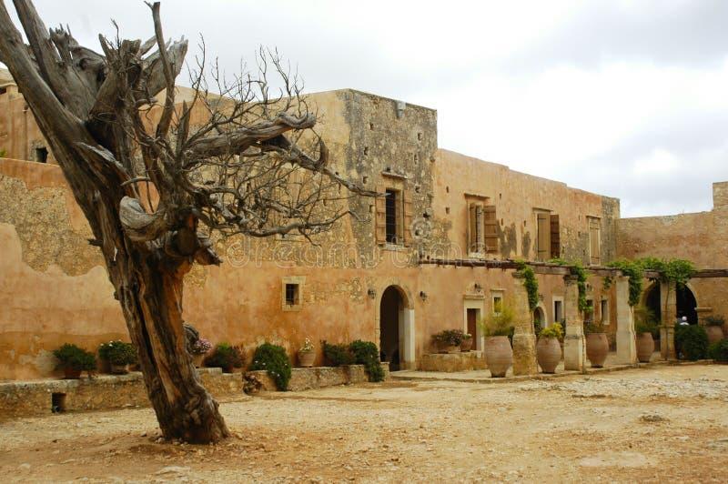 Kloster Kreta-Arkadi lizenzfreie stockfotografie