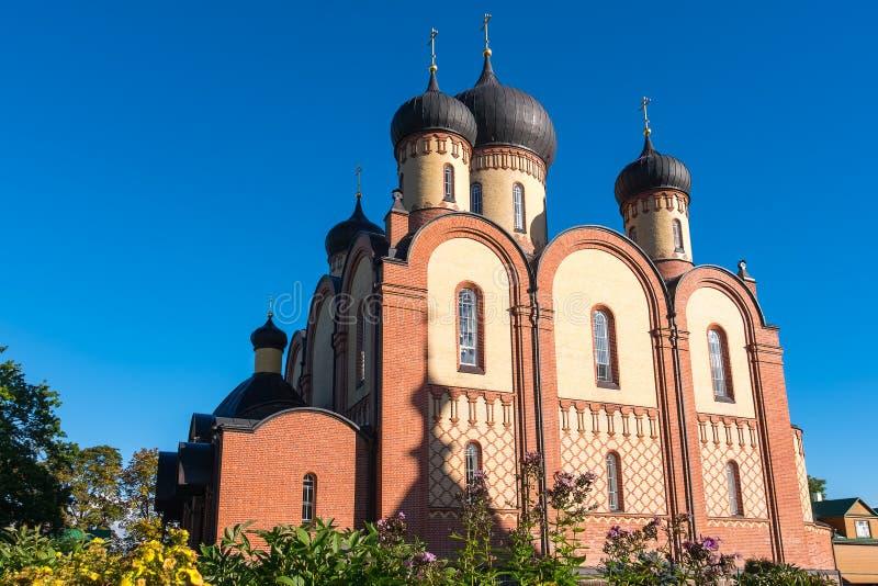 Kloster Kuremae Dormition Estland lizenzfreie stockbilder