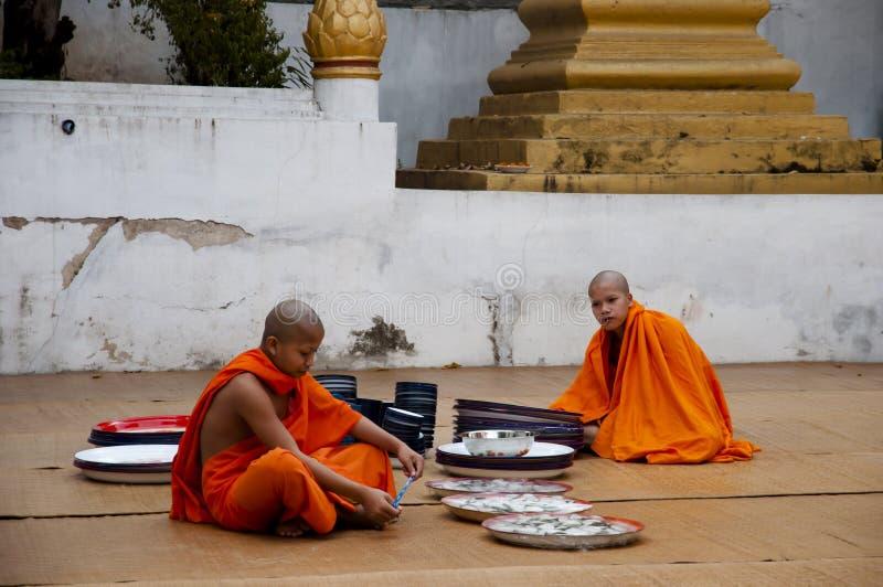 Kloster - Laos arkivfoto