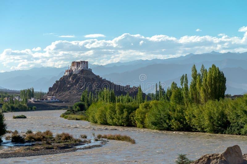 Download Kloster Leh Ladakh Indien Augusti 2017 Fotografering för Bildbyråer - Bild av region, berg: 106829315