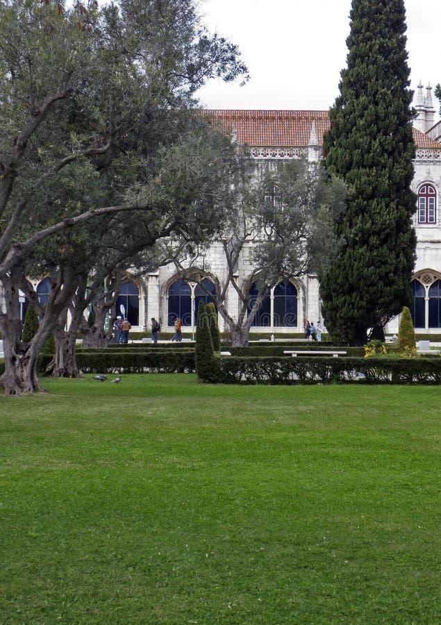 Kloster Lissabons Jeronimos, Belem, Lissabon stockfotos