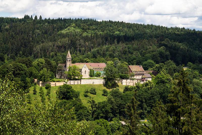 Kloster Lorch royaltyfri foto