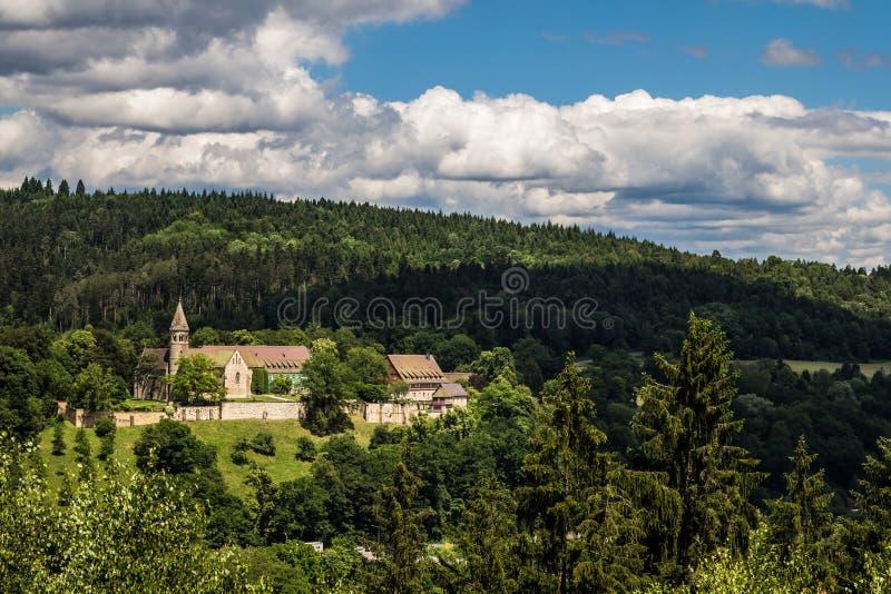 Kloster Lorch royaltyfria bilder