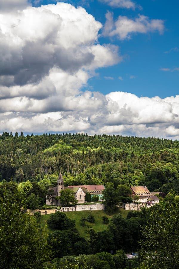 Kloster Lorch royaltyfri bild