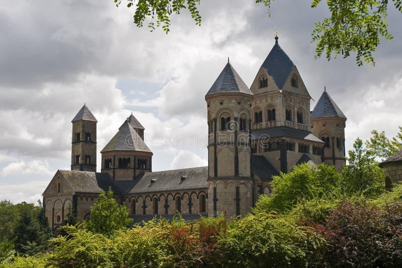 Kloster Maria-Laach stockfotografie