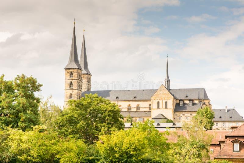 Kloster Michelsberg fotografia royalty free