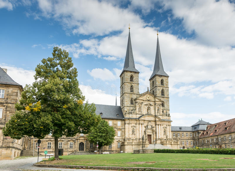 Kloster Michelsberg zdjęcie stock
