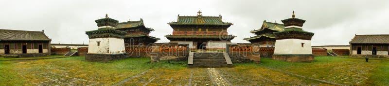 Kloster in Mongolei lizenzfreie stockfotografie