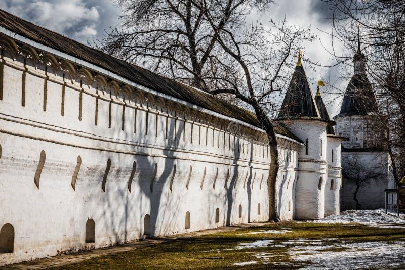 Kloster Moskaus Spaso-Andronikov lizenzfreies stockfoto