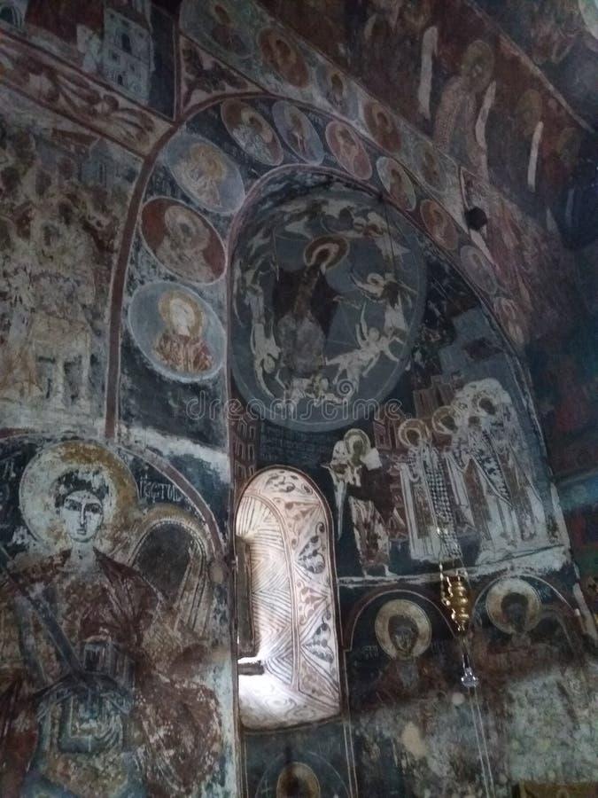 Kloster Nikolje royaltyfri bild