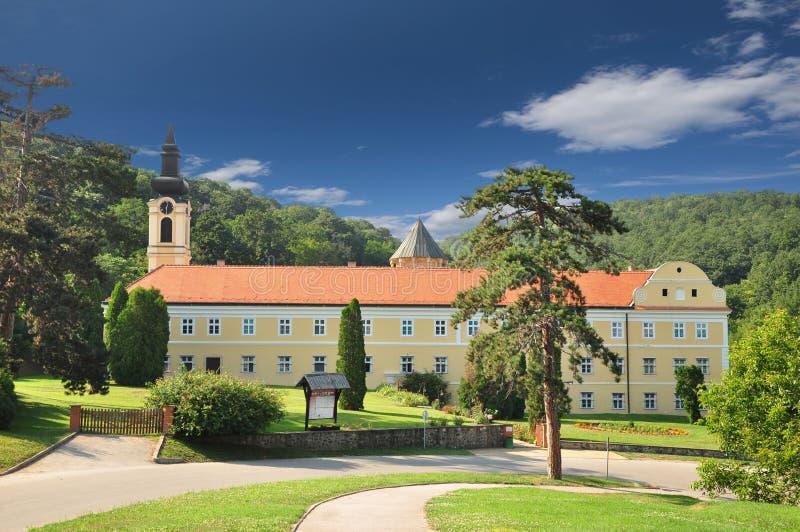 Kloster Novo Hopovo, Srbia stockbild