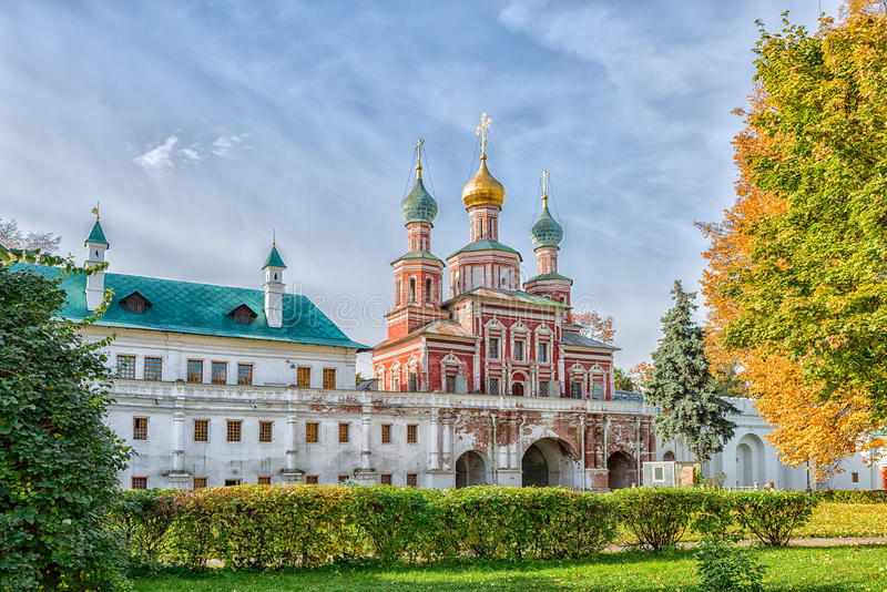kloster novodevichy moscow arkivfoto