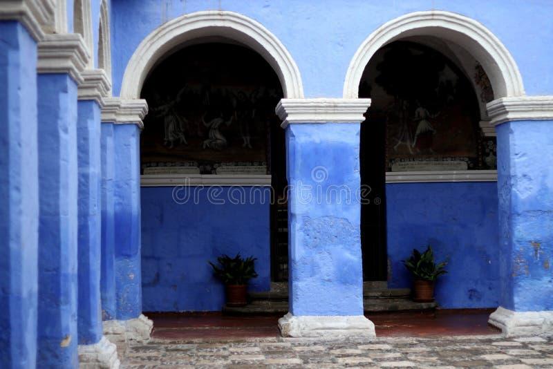 Kloster in Peru stockfotos