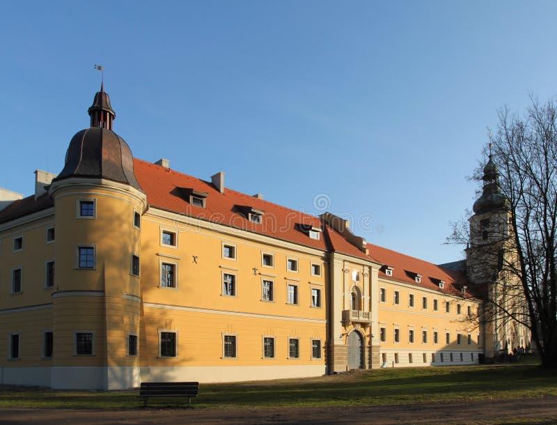 kloster poland royaltyfri bild