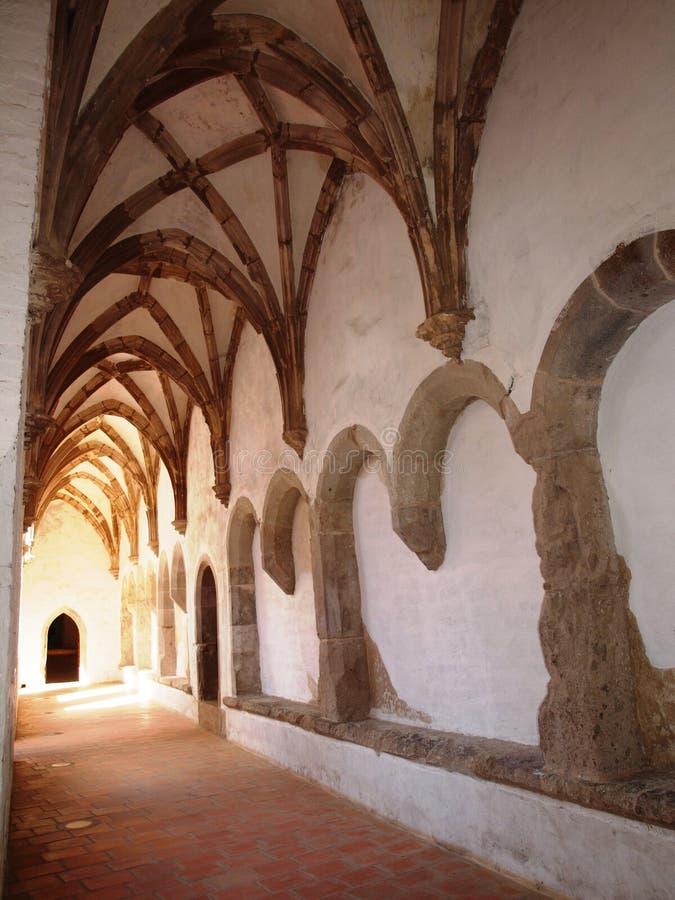 Kloster in Royal Palace, Visegrád stockfotografie