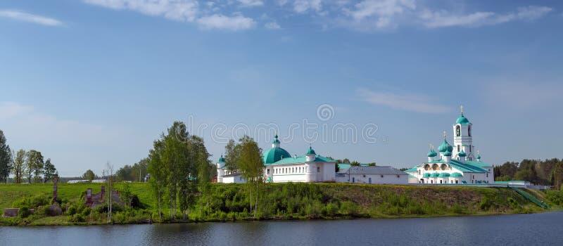 Kloster in Russland lizenzfreie stockfotos