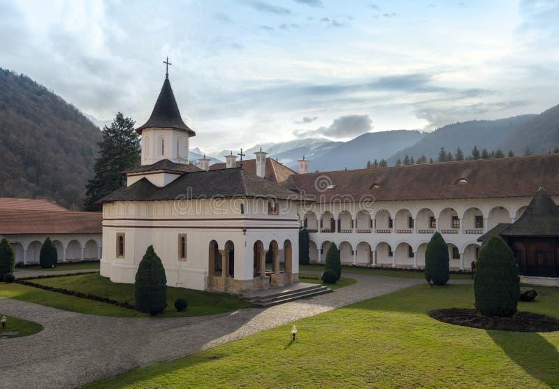 Kloster Sambata de Sus stockfotos